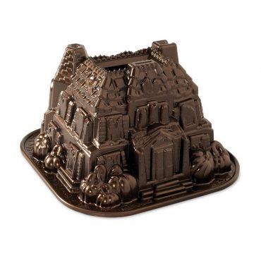 Haunted Manor Bundt® Pan, bronze exterior