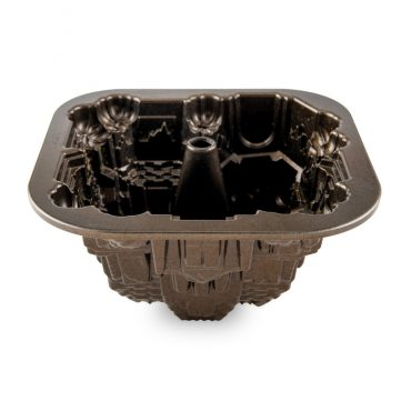 Haunted Manor Bundt® Pan, bronze nonstick interior