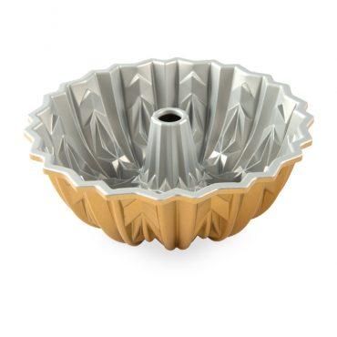 Cut Crystal Bundt® Pan, silver nonstick interior