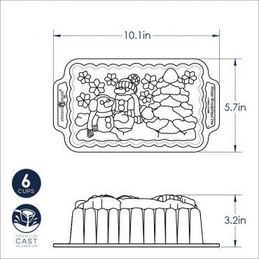 Winter Wonderland Loaf Dimensional Drawing