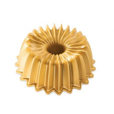 5 Cup Brilliance Bundt Pan, gold exterior