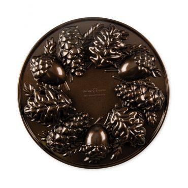 Woodland Cakelet Pan, bronze exterior