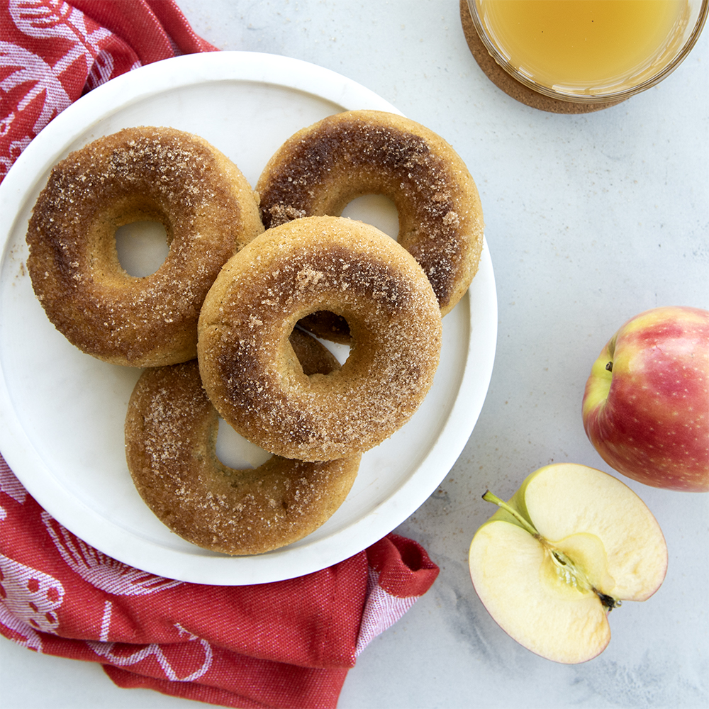 Grain-Free Spiced Apple Cider Donuts