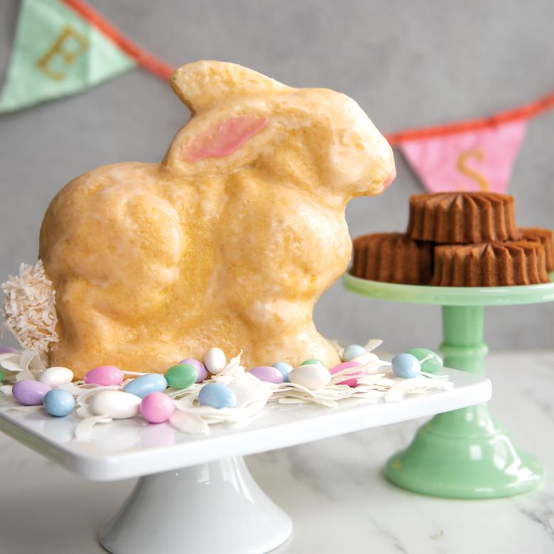 3D Bunny Cake Pan