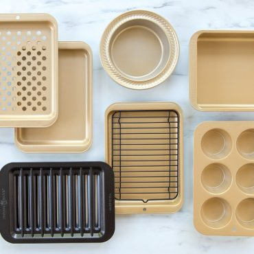 Nonstick Compact Ovenware product collage