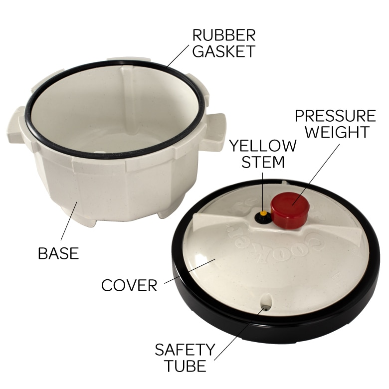 Tender Cooker Red Pressure Regulator Weight