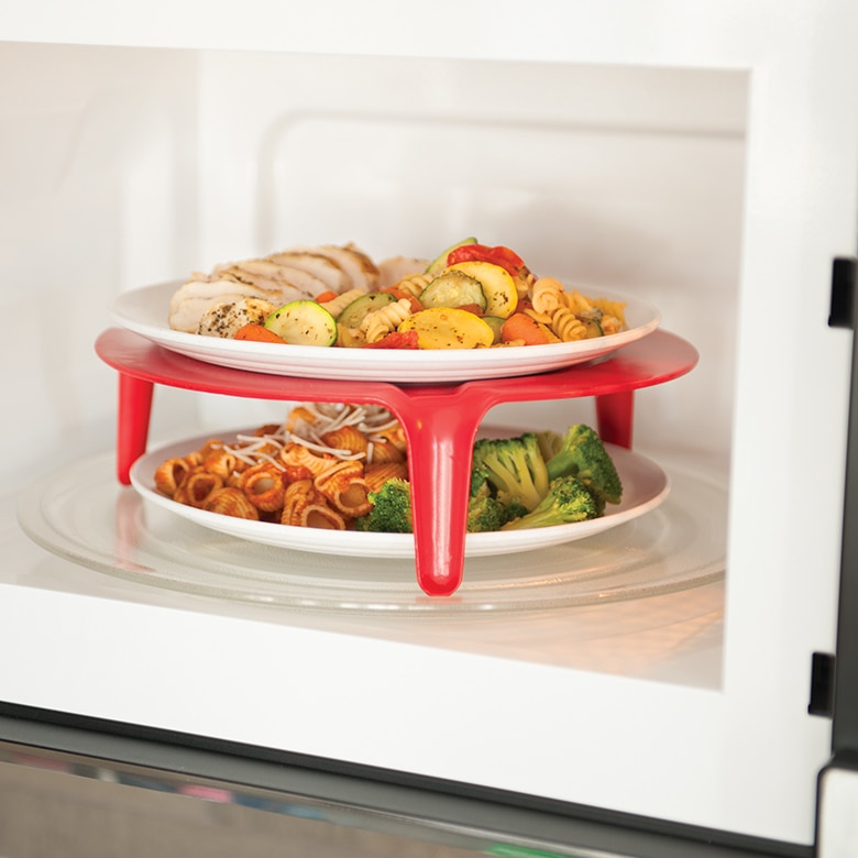 Microwave Plate Stacker