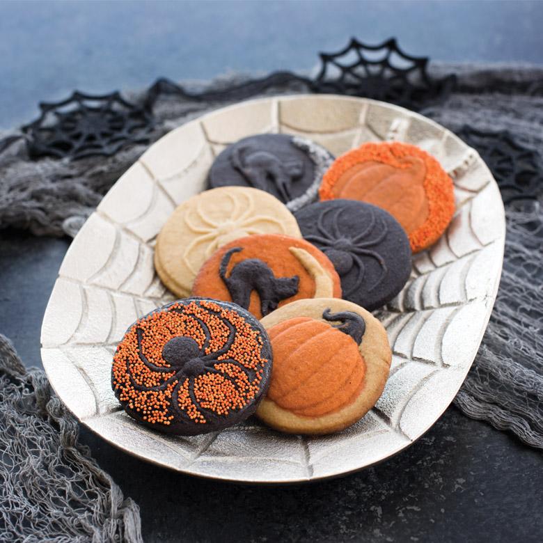 Halloween Stamped Cookies
