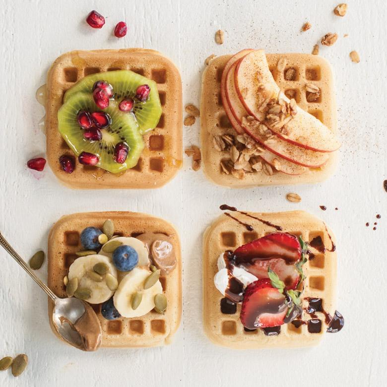 Mini Waffle Pancakes