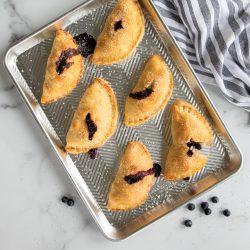 Blueberry Pocket Pies