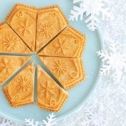 Buttery Vanilla Shortbread