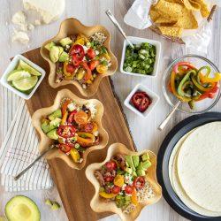 Baja Tortilla Bowl Salad
