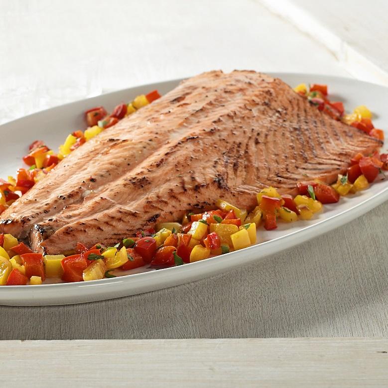 Maple Smoked Salmon