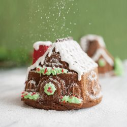 Gingerbread House Duet Cakes