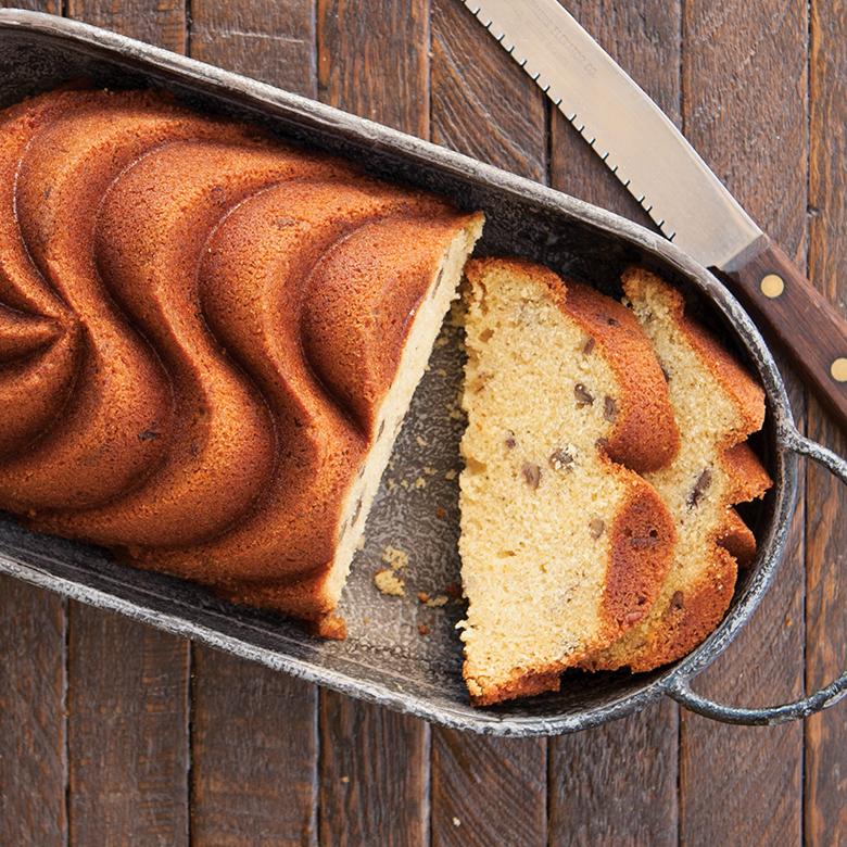 Brown Butter Pecan Loaf Cake
