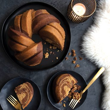 75th Anniversary Braided Bundt® Baked Cake