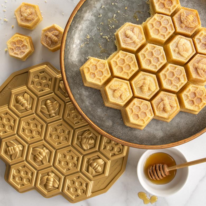 Honeycomb Lemon Cake