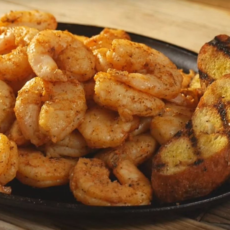 Barbecued Smoked Shrimp