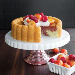 Cherry Charlotte Cake