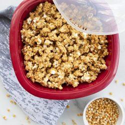 Cinnamon Maple Popcorn