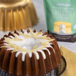 Gluten Free Lemon Ginger Bundt Cake
