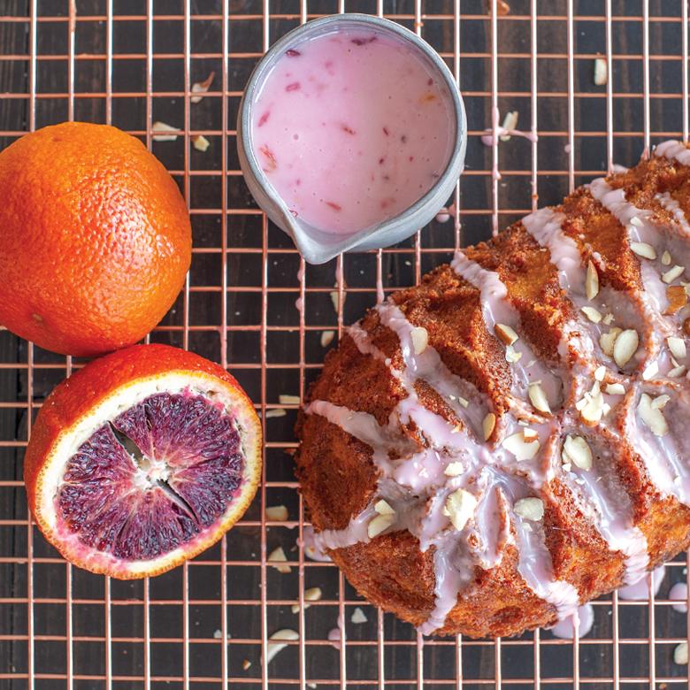 Blood Orange Loaf Cake