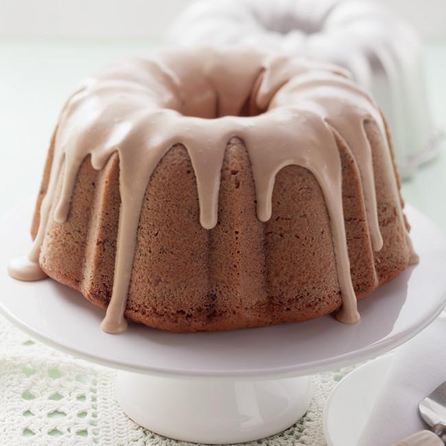 Peanut Butter Zucchini Chocolate Bundt Cake