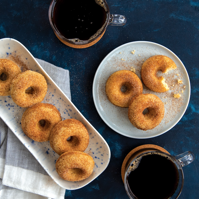 Spiced Mini Donuts