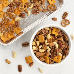 Crispy Crunchy Savory Snack Mix