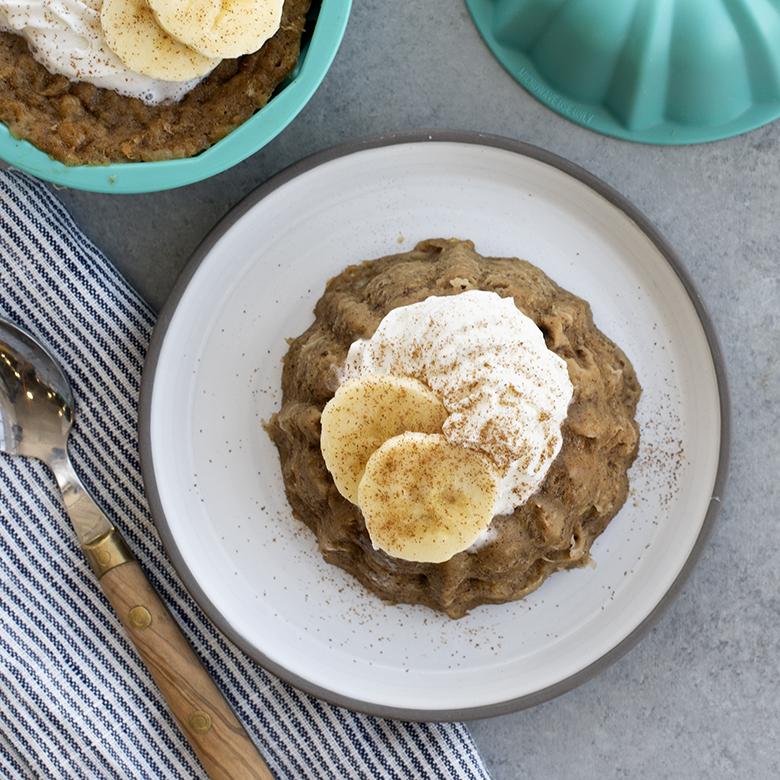 Peanut Butter Banana Bundt® Mug Cake