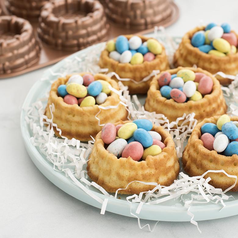 Honey Almond Cake Easter Baskets