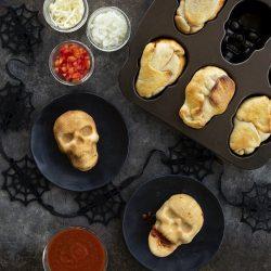 Veggie Pizza Skulls