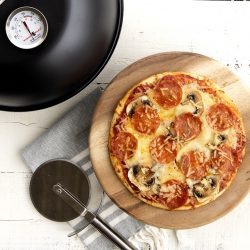 Wood-Fired Smoked Pizza