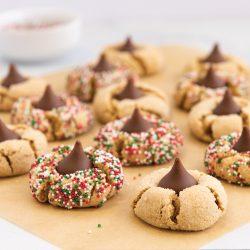 Gluten Free Peanut Butter Star Cookies