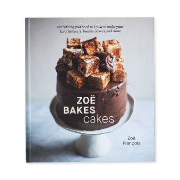 Front cover of Zoe Bakes Cakes Cookbook